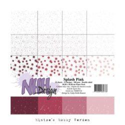 NHH – Paperpad – 30,5 x 30,5 cm – Splash Pink