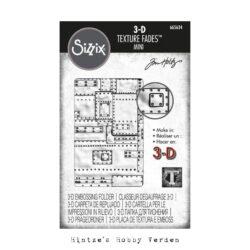SIZZIX/TIM HOLTZ 3D MINI EMBOSSINGFOLDER – Foundry