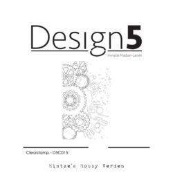 Design5 Stempel – Mixed Media – Gears