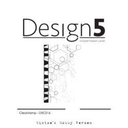 Design5 Stempel – Mixed Media – Hexagon