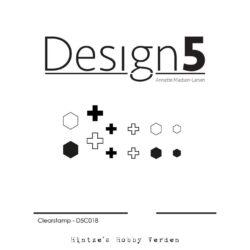 Design5 Stempel – Small Plus & Hexagon