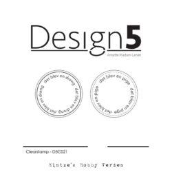 Design5 Stempel – En dreng & en pige