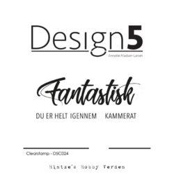 Design5 Stempel – Fantastisk