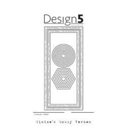 Design5 Die – Slimcard Frames – Circles – Hexagon
