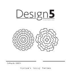 Design5 Die – Gears & Game Pieces