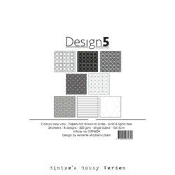 Design5 – Paperpad – 15×15 cm – Intergalactic Grey
