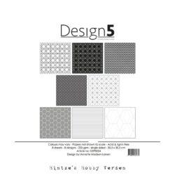 Design5 – Paperpad – 30,5×30,5 cm – Intergalactic Grey