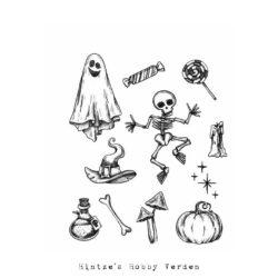 Tim Holtz Stempel – Halloween Doodles