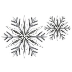 SIZZIX/TIM HOLTZ 3D CUT AND EMBOS IMPRESSLITS – Snowflake