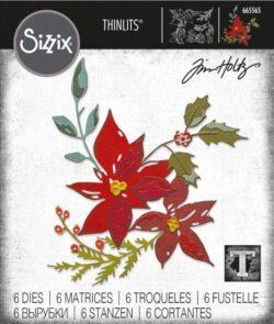 Sizzix/Tim Holtz Die – Festive Bouquet