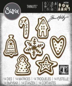 Sizzix/Tim Holtz Die – Christmas Cookies