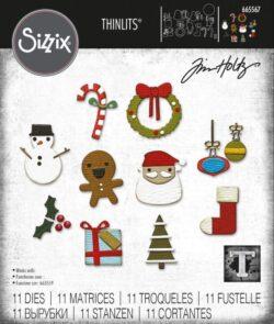 Sizzix/Tim Holtz Die – Christmas Minis