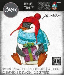 Sizzix/Tim Holtz Die – Eugene, Colorize
