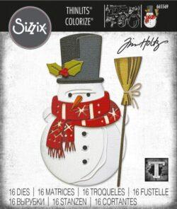 Sizzix/Tim Holtz Die – Winston, Colorize