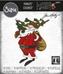 Sizzix/Tim Holtz Die – Woodland Santa