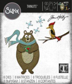 Sizzix/Tim Holtz Die – Cozy Winter