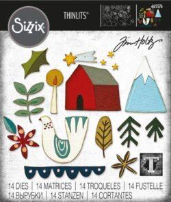Sizzix/Tim Holtz Die – Funky Nordic