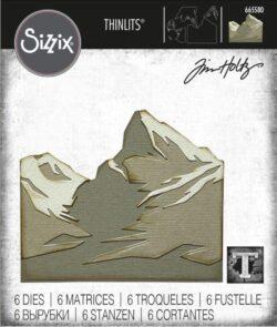 Sizzix/Tim Holtz Die – Mountain Top