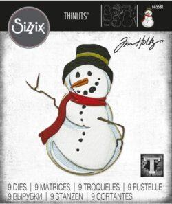 Sizzix/Tim Holtz Die – Mr. Frost