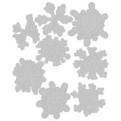 Sizzix/Tim Holtz Die – Scribbly Snowflakes