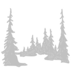 Sizzix/Tim Holtz Die – Tall Pines