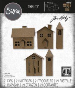 Sizzix/Tim Holtz Die – Paper Village #2