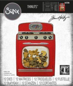 Sizzix/Tim Holtz Die – Retro Oven