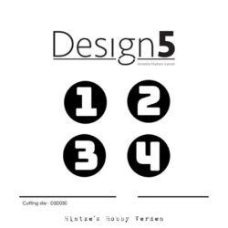 Design5 Die – Adventh Numbers