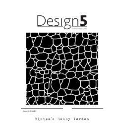 Design5 Stencil – Stone Wall
