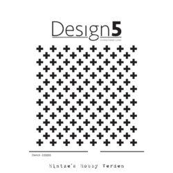 Design5 Stencil – ++++
