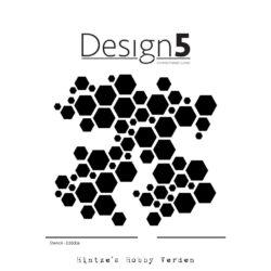 Design5 Stencil – Hexagon