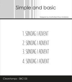 Simple And Basic Stempler – Danske tekster