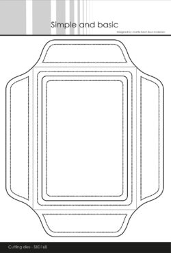 Simple And Basic Die – A6 Envelope