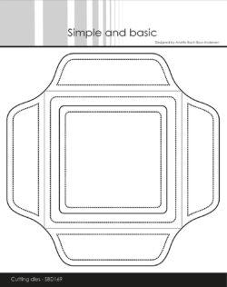 Simple And Basic Die – 10x10cm Envelope