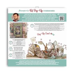 Stamperia Pop Up Kit 12×12 Inch – Alice Tea Party