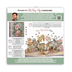 Stamperia Pop Up Kit 12×12 Inch – House of Roses