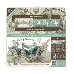 Stamperia Pop Up Kit 12×12 Inch – Voyages Fantastiques Balloon