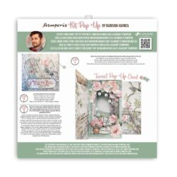 Stamperia Pop Up Kit 12×12 Inch – House of Roses Tunnel