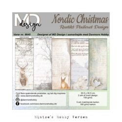 MD Design Paperpad – 30,5 x 30,5 cm – Nordic Christmas